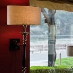 Aufnahme einer Lampe im Fährturm